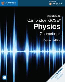 Cambridge IGCSE? Physics Coursebook with CD-ROM