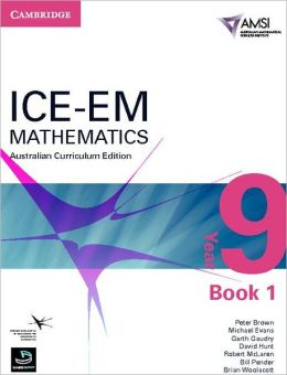 ICE-EM Mathematics Australian Curriculum Edition Year 9 Book 1