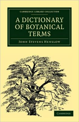 A Dictionary of Botanical Terms