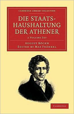 Die Staatshaushaltung der Athener (2 Volume Set)