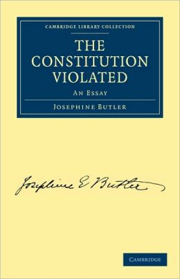 The Constitution Violated: An Essay