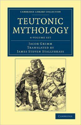 Teutonic Mythology 4 Volume Set
