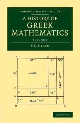A History of Greek Mathematics: Volume 1