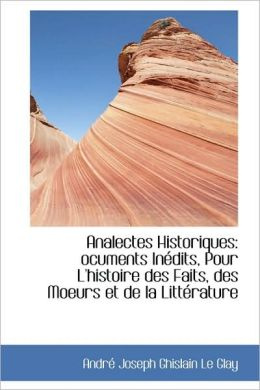 Analectes Historiques