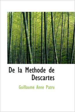 De La Methode De Descartes