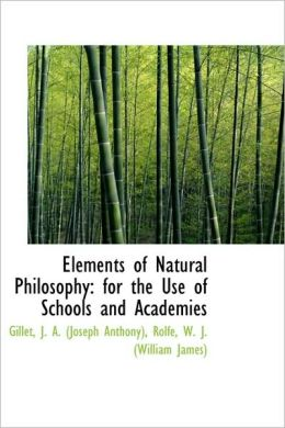 Elements Of Natural Philosophy