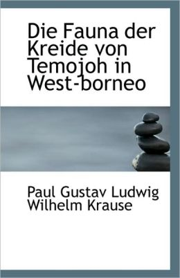 Die Fauna Der Kreide Von Temojoh In West-Borneo