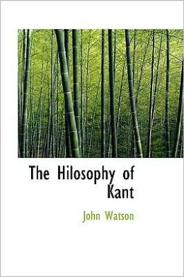 Hilosophy of Kant