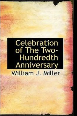 Celebration of the Two-Hundredth Anniversary