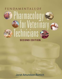 Fundamentals of Pharmacology for Veterinary Technicians (Book Only)