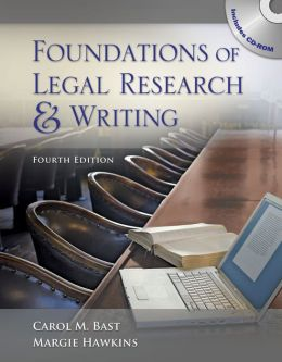 Foundations of Legal Research and Writing (Book Only)