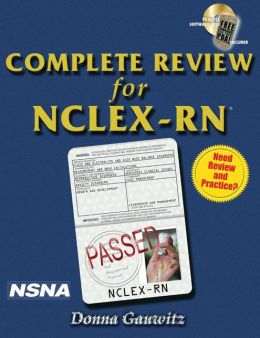 Complete Review for NCLEX-RN (Book Only)