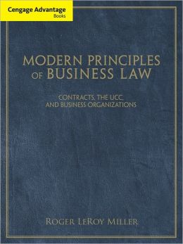 Cengage Advantage Books: Modern Principles of Business Law