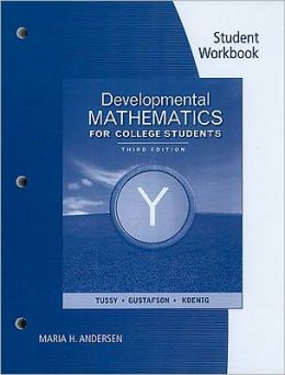 Student Workbook for Developmental Mathematics
