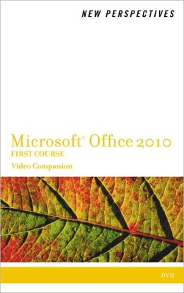 Video Companion DVD for Shaffer/Carey/Parsons/Oja/Finnegan's New Perspectives on Microsoft Office 2010, First Course