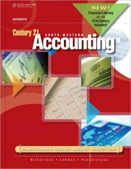 Century 21 Accounting: Advanced, 2012 Update