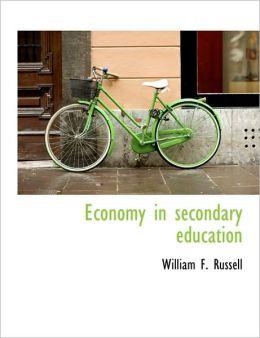 Economy In Secondary Education