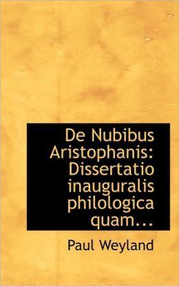 De Nubibus Aristophanis