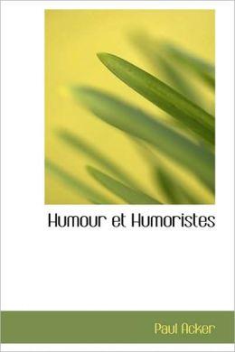 Humour Et Humoristes