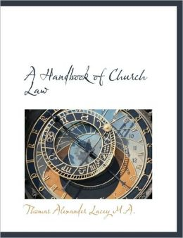 A Handbook Of Church Law