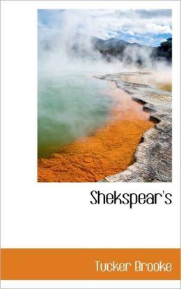 Shekspear's