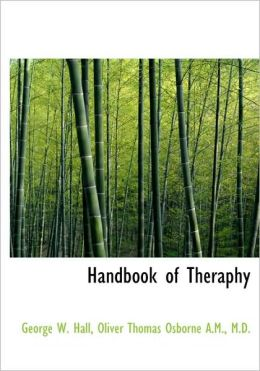 Handbook Of Theraphy
