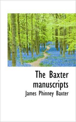 The Baxter Manuscripts