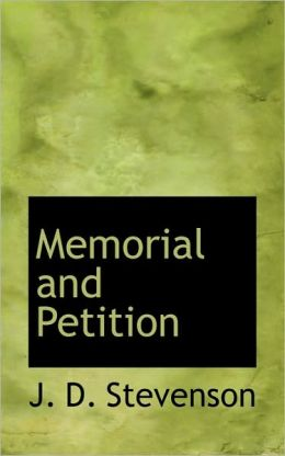Memorial And Petition