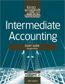 Intermediate Accounting, , Study Guide, Vol. II