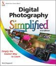 Book Cover Image. Title: Digital Photography Simplified, Author: Rob Sheppard