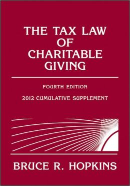 The Tax Law of Charitable Giving: 2012 Supplement