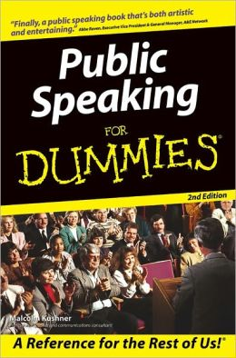 Public Speaking For Dummies
