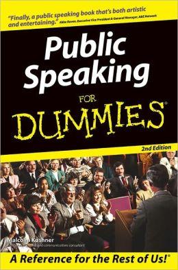Public Speaking For Dummies