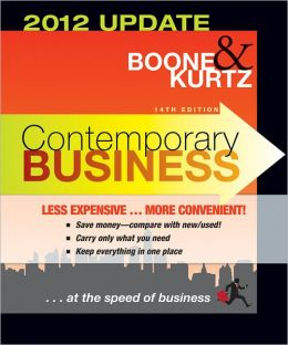 Contemporary Business 14th Edition 2012 Update Binder Ready Version