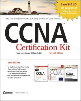 CCNA Cisco Certified Network Associate Certification Kit (640-802) Set, Includes CDs