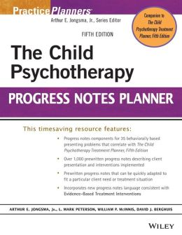 The Child Psychotherapy Progress Notes Planner