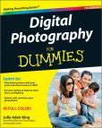 Book Cover Image. Title: Digital Photography For Dummies, Author: Julie Adair King