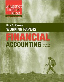 Financial Accounting, Working Papers