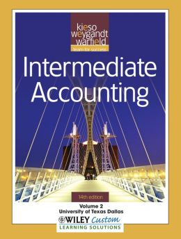 Intermediate Accounting 14th Edition Volume 2 for University of Texas Dallas