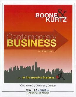 Contemporary Business 14th Edition for OCCC Softcover Color