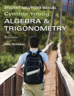Algebra and Trigonometry, Student Solutions Manual