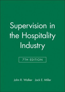 Supervision in the Hospitality Industry, Study Guide