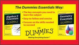 Algebra II and Geometry Essentials For Dummies Bundle