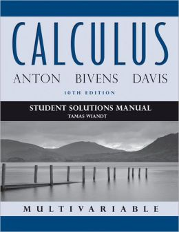 Calculus Multivariable, Student Solutions Manual
