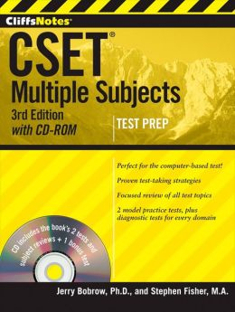 CliffsNotes CSET, with CD-ROM: Multiple Subjects