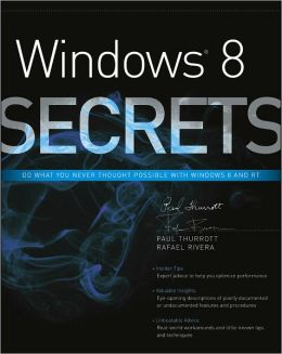 Windows 8 Secrets