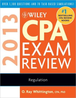 Wiley CPA Exam Review 2013, Regulation