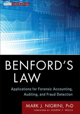 Benford's Law: Applications for Forensic Accounting, Auditing, and Fraud Detection