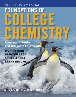 Foundations of College Chemistry, Student Solutions Manual