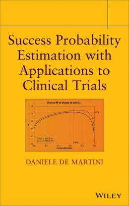 Success Probability Estimation with Applications to Clinical Trials